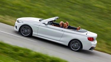 BMW 220d Convertible - above