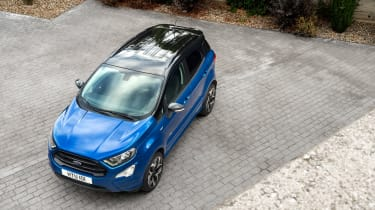 Ford EcoSport - above