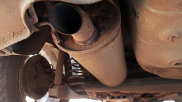 Used Volkswagen Polo - exhaust