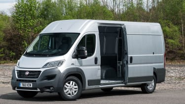 Fiat Ducato 2014 loading bay front