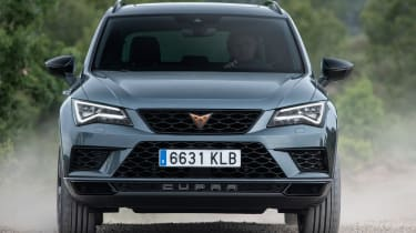 Cupra Ateca front action