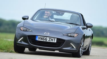 Mazda MX-5 RF long-term test - front cornering