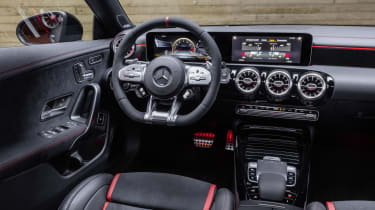 Mercedes-AMG CLA 45 Shooting Brake interior