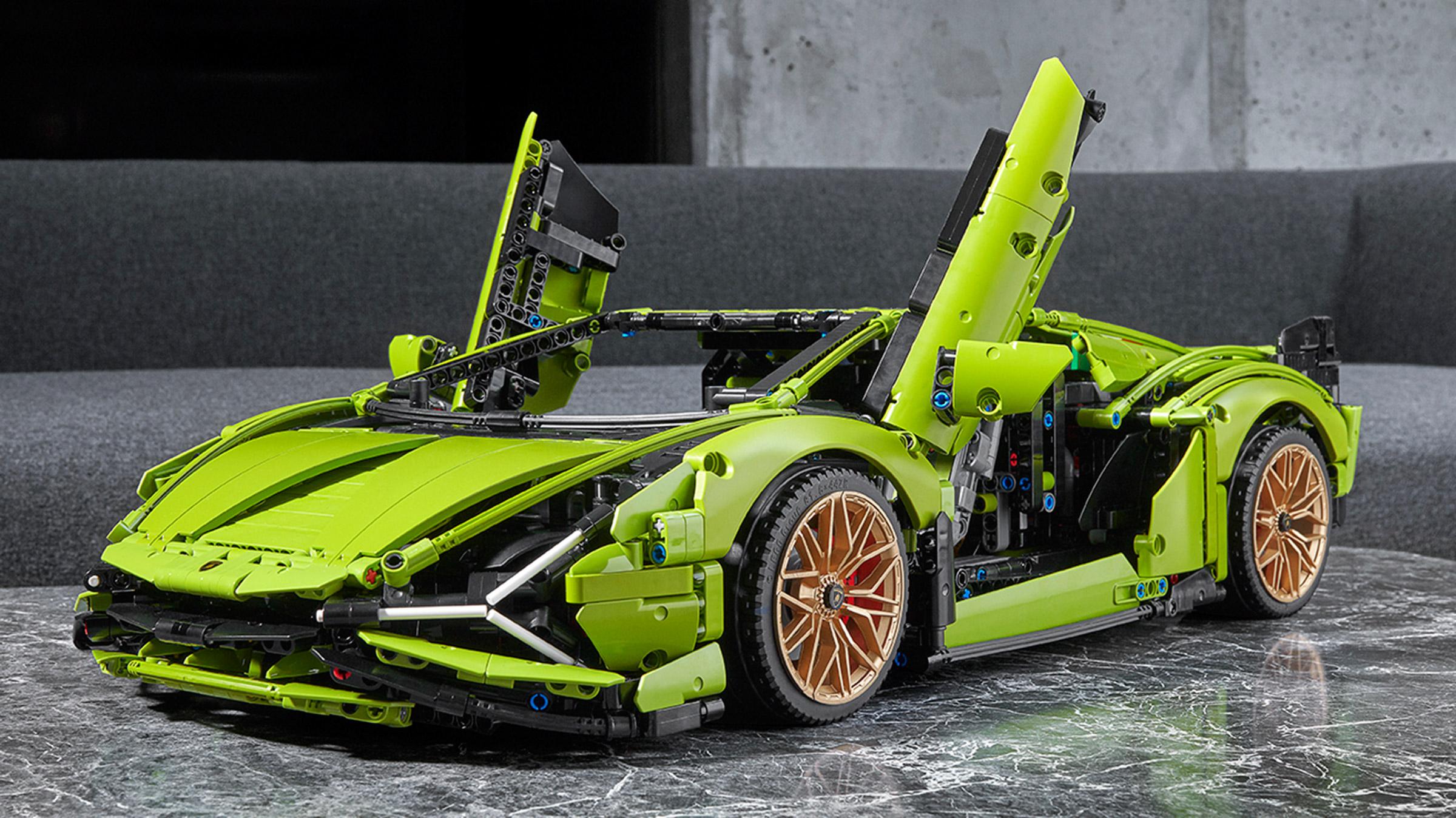 Auto Express Kia >> New Lego Lamborghini Sian blasts in with 3,696 pieces and ...