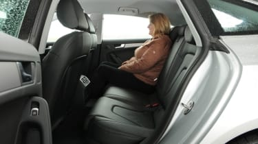 Audi A5 Sportback 2.0 TDI SE Technik back seats