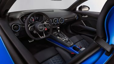 Audi TT RS Coupe - cabin