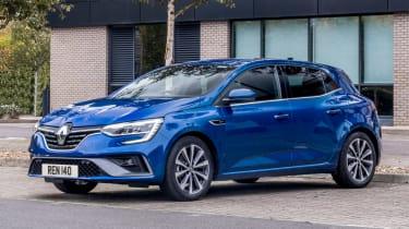 Renault Megane facelift - front static