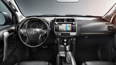 2018 Toyota Land Cruiser - interior