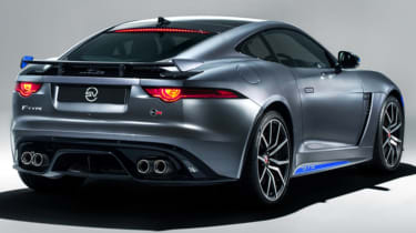 Jaguar F-Type SVR Graphic Pack rear
