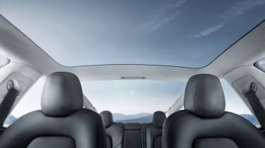 Tesla Model 3 sunroof