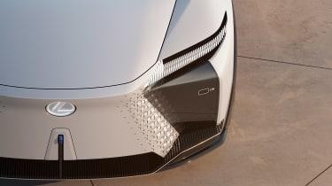 Lexus LF-Z Electrified concept - front lights