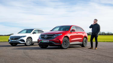 Mercedes EQC - long termer EQA comparison
