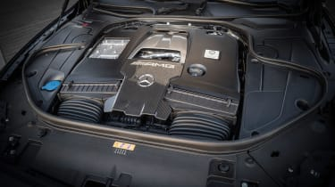 Mercedes-AMG S 63 Coupe 2018 engine