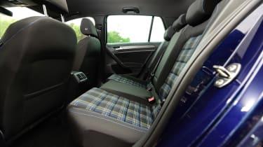 Volkswagen Golf GTE - rear seats