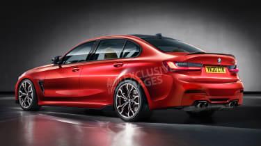 BMW M3 - rear (exclusive image)