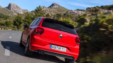 Volkswagen Polo GTI rear tracking
