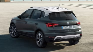 SEAT Arona facelift - rear