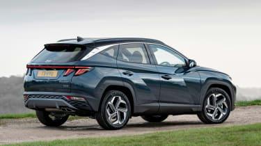 Hyundai Tucson - rear static