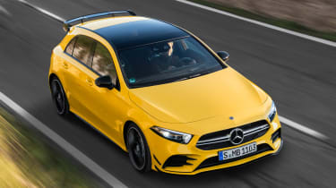 Mercedes-AMG A 35 - front tracking
