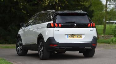 Peugeot 5008 long-term test - rear
