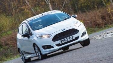 Ford Fiesta 1.0 Mountune - front action