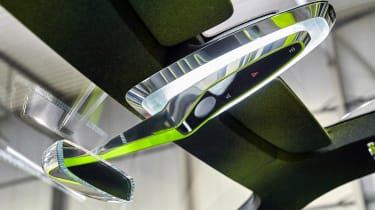 Skoda Vision X concept - interior detail