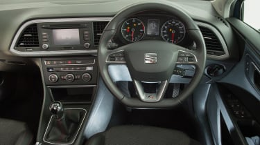 Used SEAT Leon Mk3 - dash