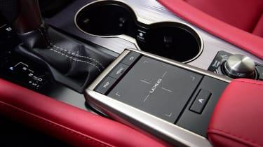 Lexus 450h F Sport - trackpad
