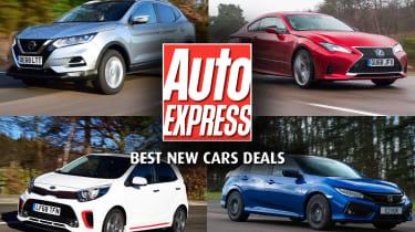 Best new car deals 2019  - header