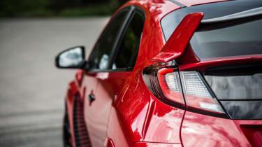 New Honda Civic Type R 2015 tail