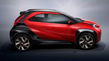 Toyota Aygo X prototype - studio side