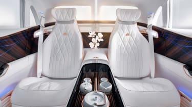Vision Mercedes-Maybach SUV - rear seats