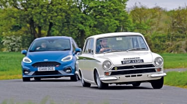 Ford Fiesta ST vs Lotus Cortina - our highlights of 2019
