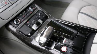Audi S8 interior detail