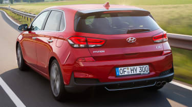 Hyundai i30 N Line rear