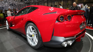 Ferrari 812 Superfast Geneva - rear