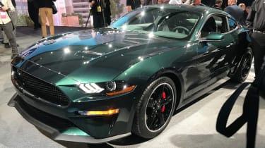 Ford Bullitt Mustang GT - Detroit front