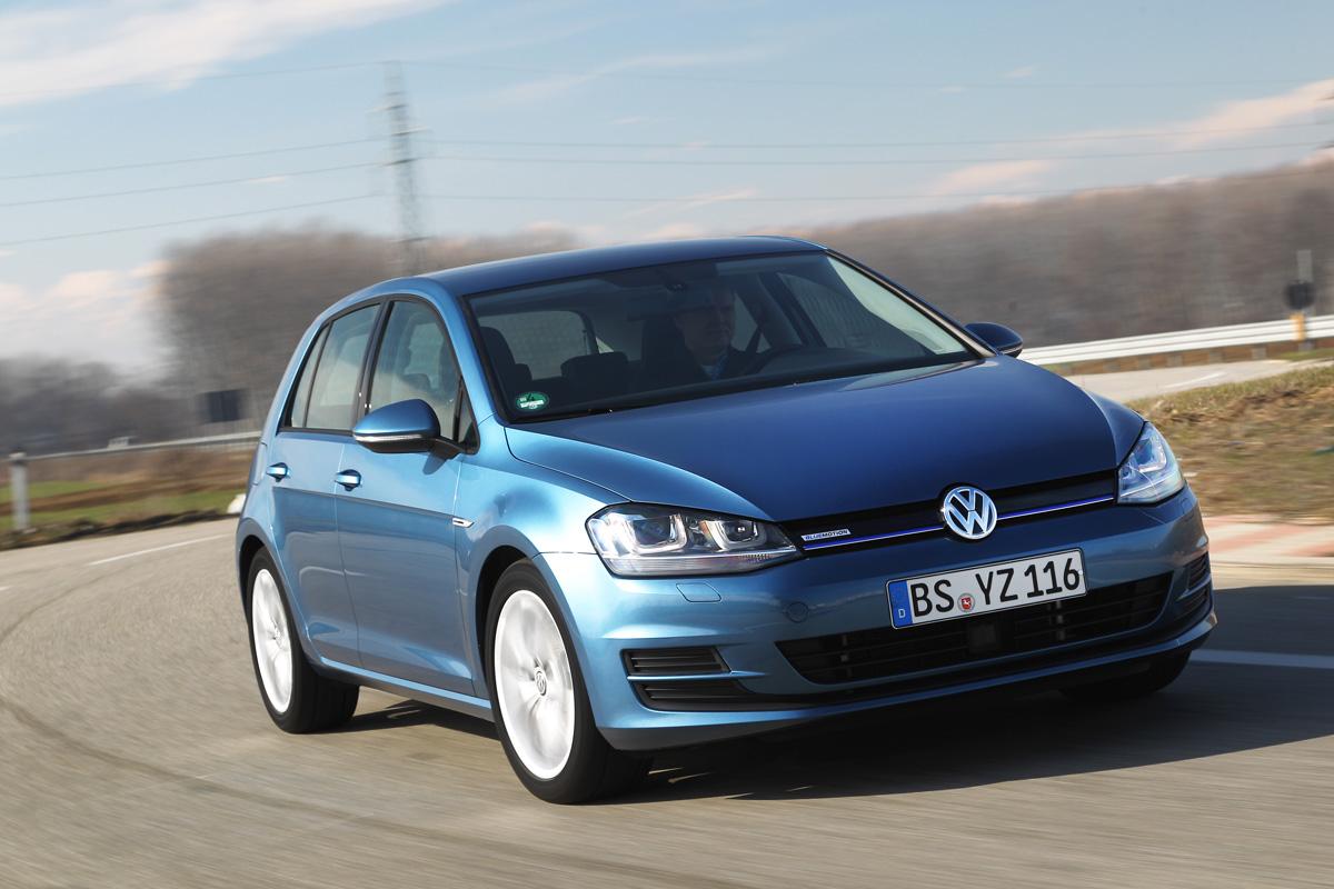 VW Golf BlueMotion review