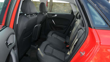 Due to the Sportback being six millimetres larger in height and length there's more legroom and headroom.