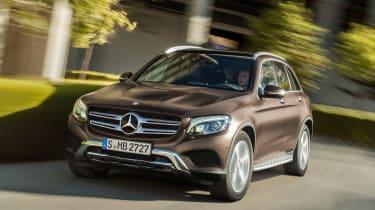 Mercedes GLC tracking