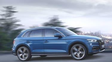 Audi Q5 tracking