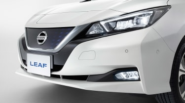 New Nissan Leaf - front detail