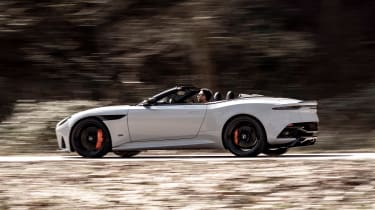 Aston Martin DBS Superleggera Volante - side