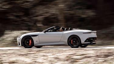 Aston Martin DBS Superleggera Volante - side