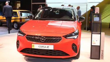Vauxhall Corsa-e - Frankfurt full front