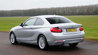 BMW 2 Series 220d rear tracking