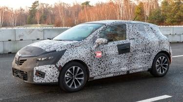 Renault Clio prototype - front static