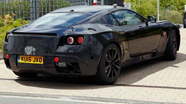 Aston Martin DB11 prototype rear quater