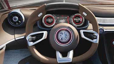 MG E-Motion concept wheel