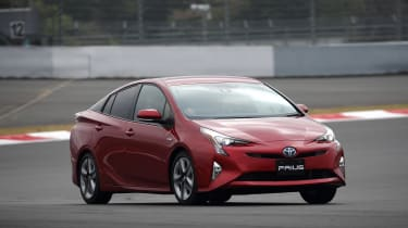 New Toyota Prius 2015 front